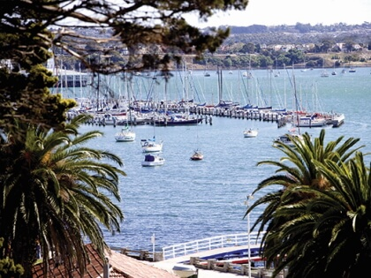 Geelong Waterfront harbour view